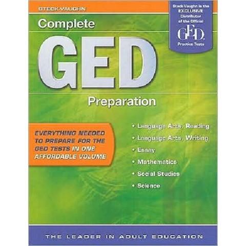 Complete Ged Preparation ( COMPLETE GED PREPARATION) (Paperback)