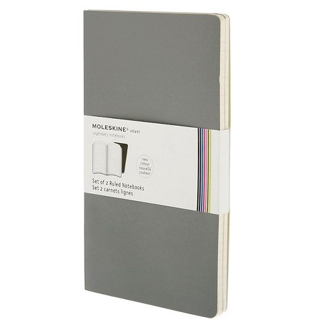 Moleskine Volant Ruled Large Notebook Assorted Colors