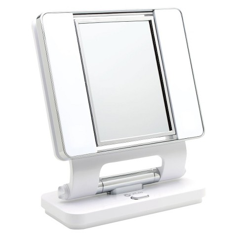 OttLite Natural Daylight Makeup Mirror - White : Target