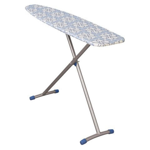 Household Essentials Euro Arch T-Leg Ironing Board - Satin