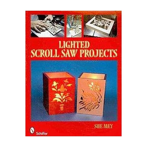 Lighted Scroll Saw Projects (Paperback)