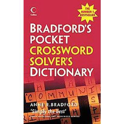 Bradford's Pocket Crossword Solver's Dictionary (Paperback)