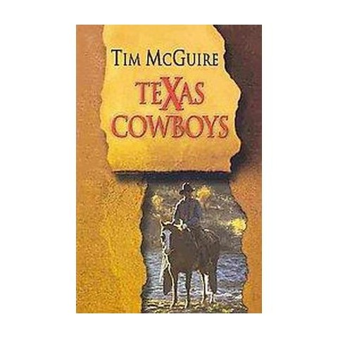 Texas Cowboys (Large Print) (Paperback)