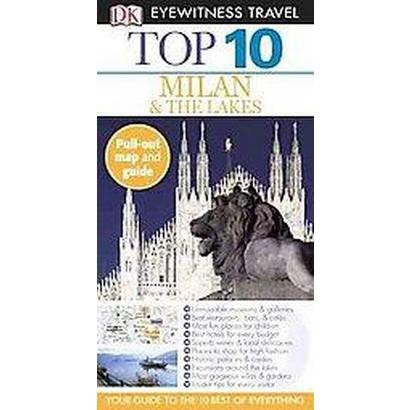 Dk Eyewitness Travel Top 10 Milan & the Lakes (Reprint / Revised) (Mixed media product)