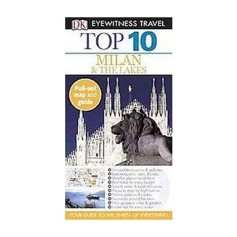 Dk Eyewitness Travel Top 10 Milan & the Lakes (Reprint / Revised) (Mixed media product)
