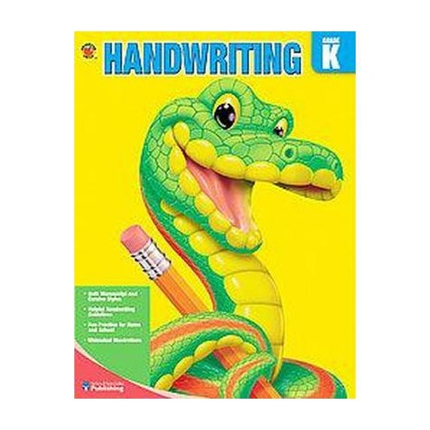 Brighter Child Book of Handwriting, Grades K-3