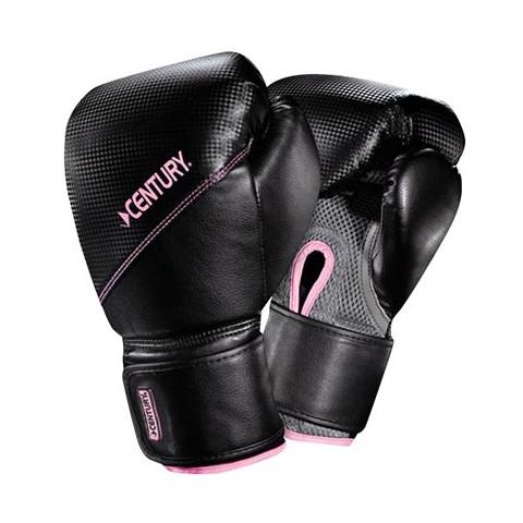Century Women's Boxing Glove w/Diamond Tech  - Black/ Pink