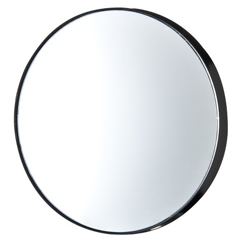 Stiles Suction 10X Magnifying Mirror - Black