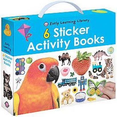 Sticker Activity Books (Hardcover)