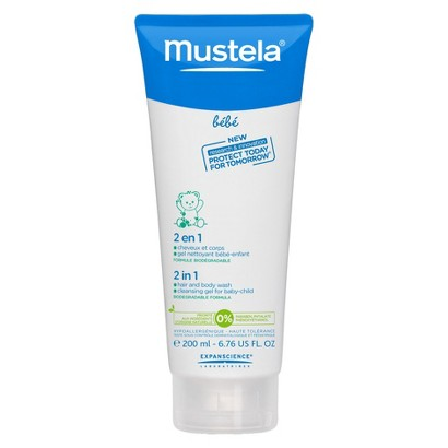 Mustela 2 in 1 Hair and Body Wash - 6.76 oz.