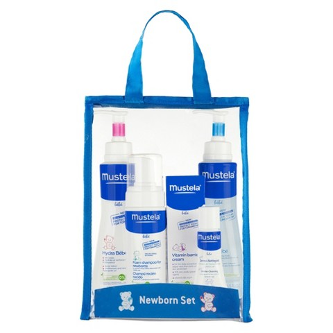 Mustela Newborn 4 Piece Gift Set