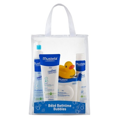 Mustela Bath Time Essentials 5 Piece Set