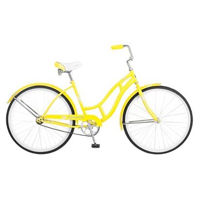 """Schwinn Womens Legacy 26"""" Cruiser Bike - Yellow"""