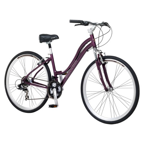 "Schwinn Womens Trailway 28""/700c Hybrid Bike - Purple"
