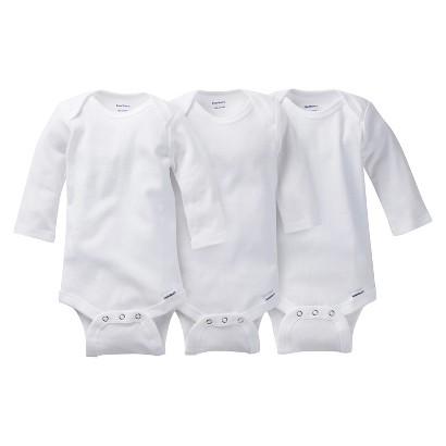 Gerber® Onesies® Newborn 3 Pack Long-Sleeve Onesies