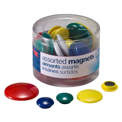 up&up Magnet Set Assorted Sizes 30-ct.