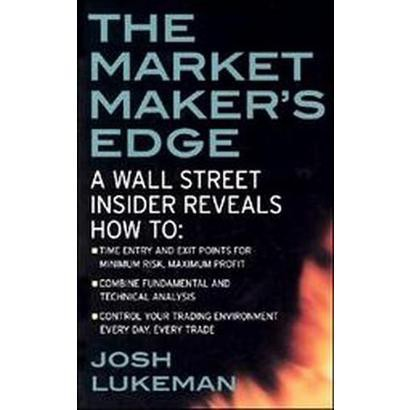 The Market Maker's Edge (Paperback)