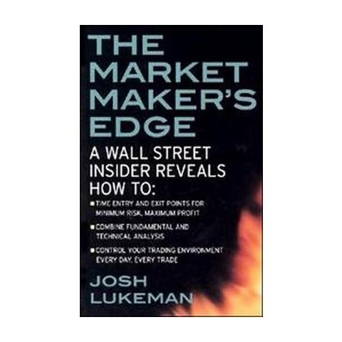 The Market Maker's Edge (Paperback)