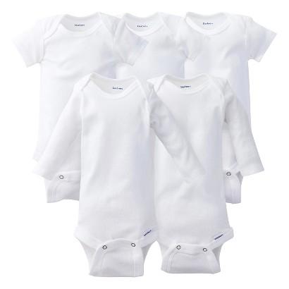 Gerber® Newborn 5-Piece Essential Pack - White