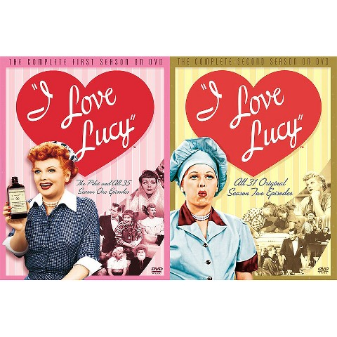 I Love Lucy Season 1 & 2 (2-Pack)