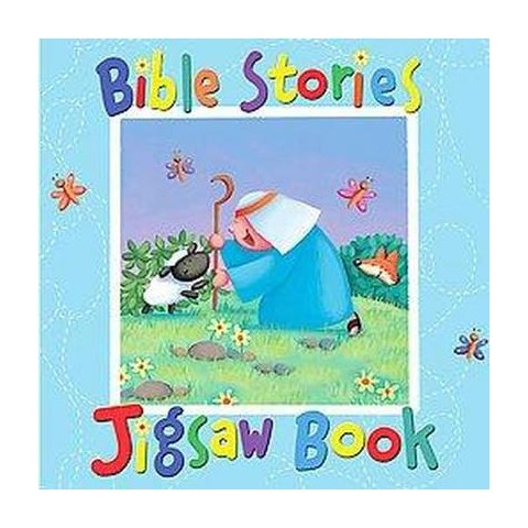 Bible Stories Jigsaw Book (Board)