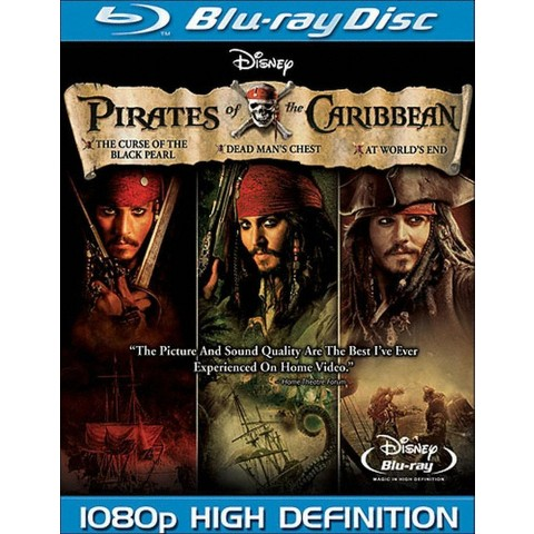 Pirates of the Caribbean Trilogy (7 Discs) (Blu-ray)
