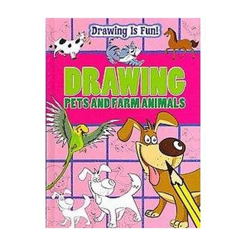 Drawing Pets and Farm Animals (Hardcover)