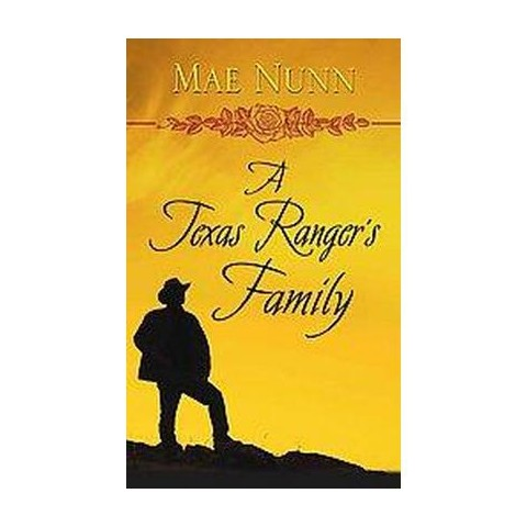 A Texas Ranger's Family (Large Print) (Hardcover)