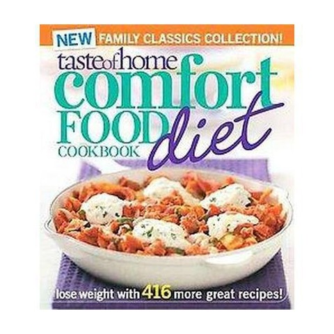 Taste of Home Comfort Food Diet Cookbook (Paperback)