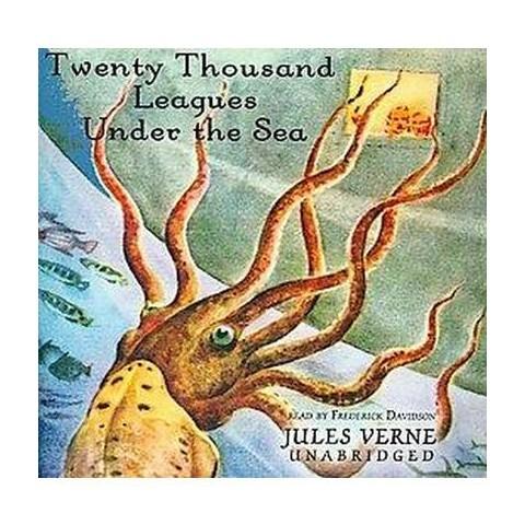 Twenty Thousand Leagues Under the Sea (Unabridged) (Compact Disc)