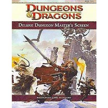 Deluxe Dungeon Master's Screen (Hardcover)
