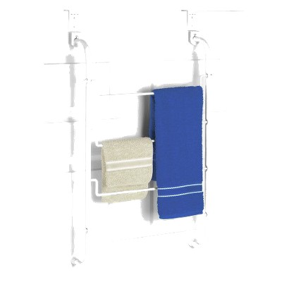 Over the Door Towel Rack White