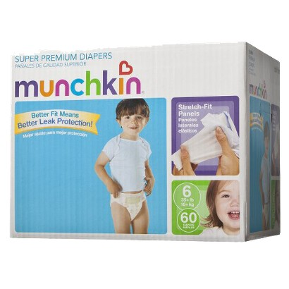 Munchkin Baby Diapers - Big Pack (Select Size)