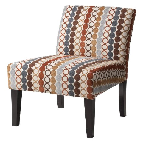 Avington Upholstered Slipper Chair Circle Hoopla Tar