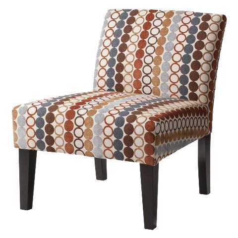 Avington Upholstered Slipper Chair - Circle Hoopla