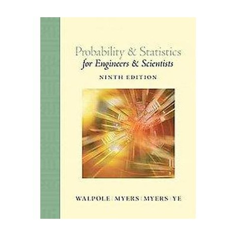 Probability & Statistics for Engineers and Scientists (Hardcover)