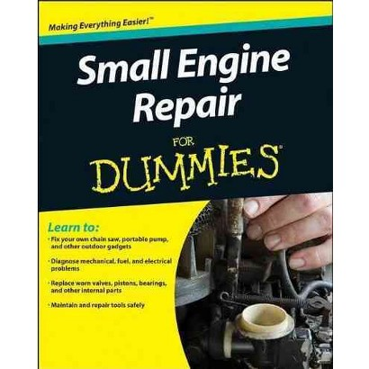 Small Engine Repair for Dummies (Paperback)