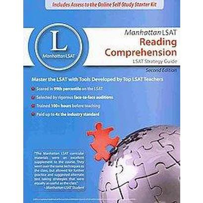 Manhattan Lsat Reading Comprehension Strategy Guide (Mixed media product)