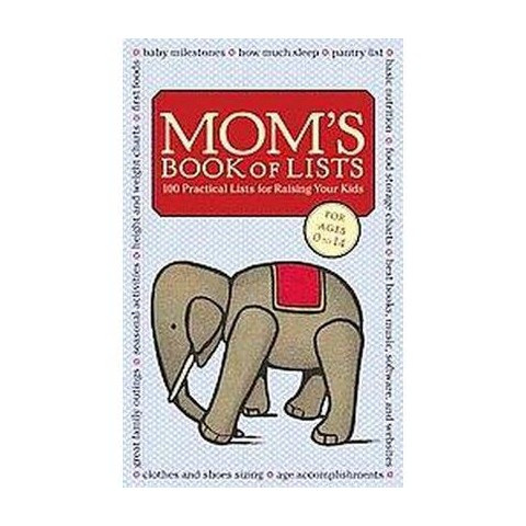 Mom's Book of Lists (Hardcover)