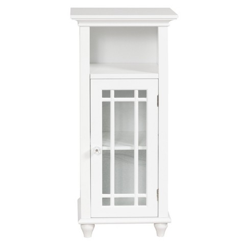 Elegant Home Fashions Neal Floor Cabinet - White