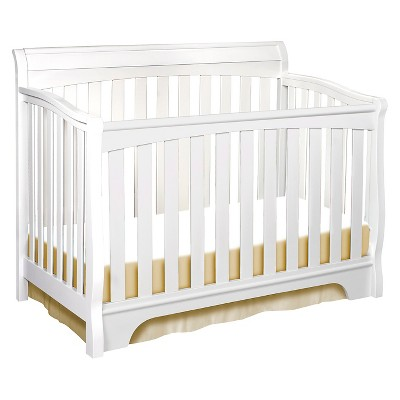Delta Children Eclipse 4-in-1 Convertible Crib -White