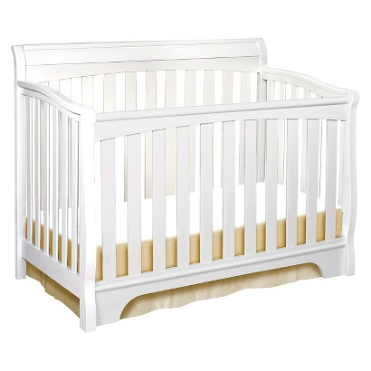 Delta Eclipse 4-in-1 Convertible Crib - White