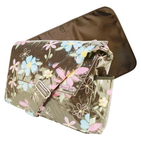 Trend Lab Messenger Diaper Bag - Blossoms