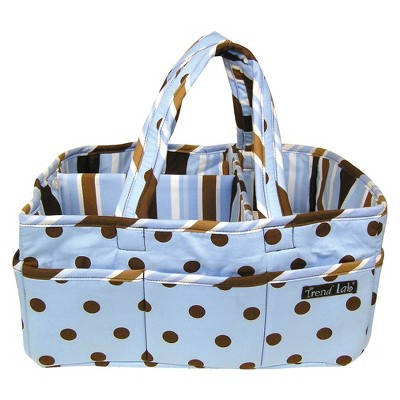 Trend Lab Blue Brown Storage Caddy