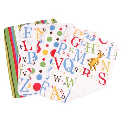 Trend Lab 8 Pc. Bib and Burp Cloth Set -Dr. Seuss