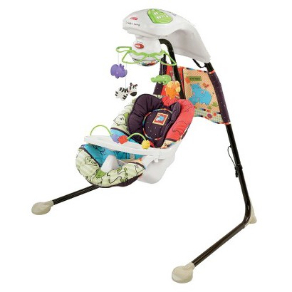 Fisher-Price Cradle Swing - Luv U Zoo