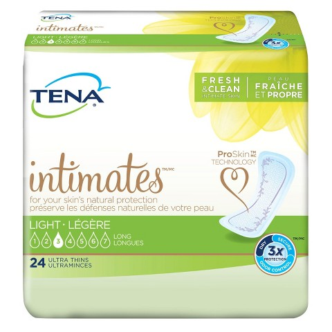 Tena Serenity® Active Ultra Thin Long Pads - 24 Count