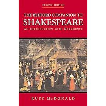 The Bedford Companion to Shakespeare (Paperback)