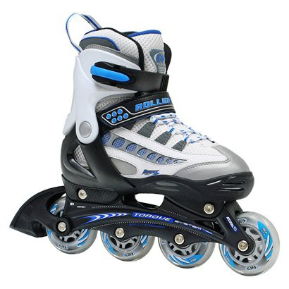 Roller Derby Rocket MDX Adjustable Boy's Inline Skate - Multicolor