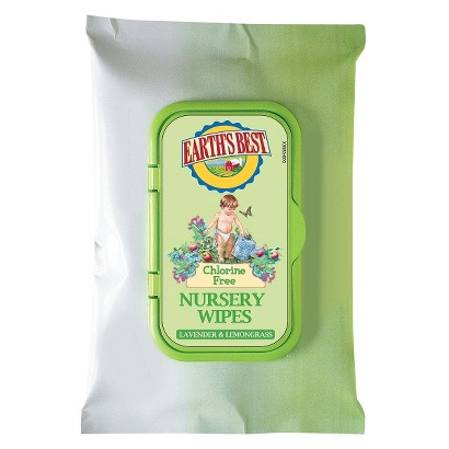 Earth's Best Travel Nursery Wipes - 240 Count
